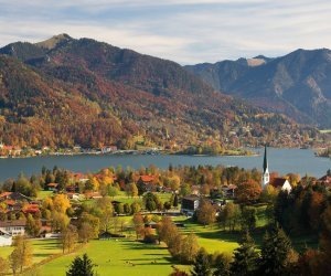 Herbst am Tegernsee in Rottach-Egern